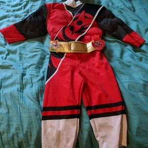 4/$25 Sabans Red Power Rangers 2T Costume